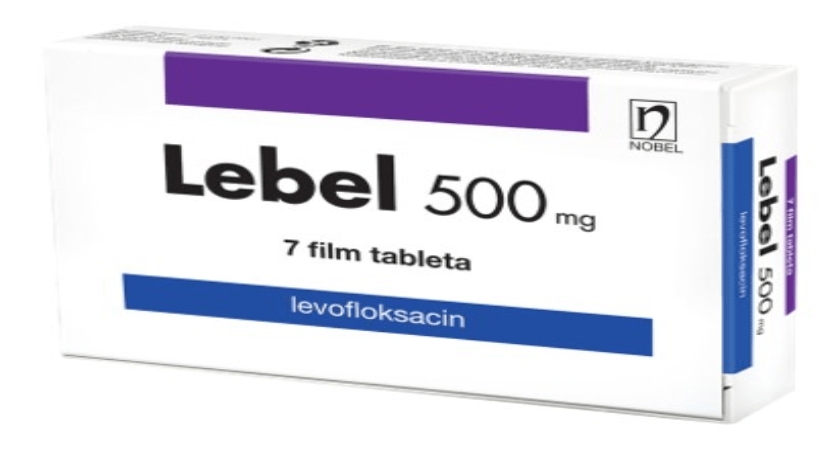 Lebel Film Tableta 500mg 7 Tableta