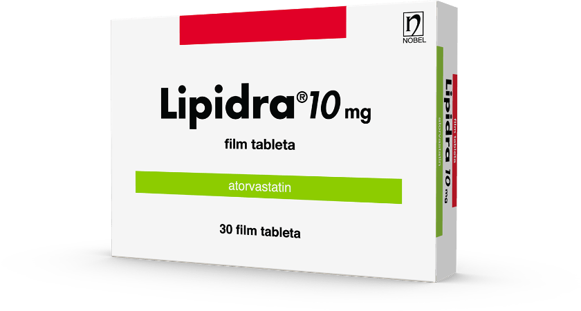 Lipidra Film Tableta 10mg 30 Film Tableta