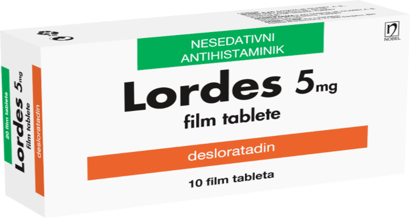 Lordes Film Tableta 5mg 10 Film Tableta